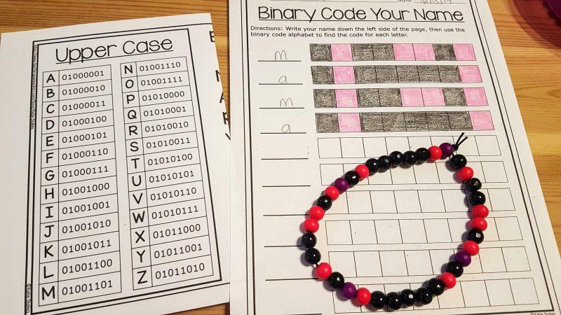Binary Beads - Steam Powered Kids